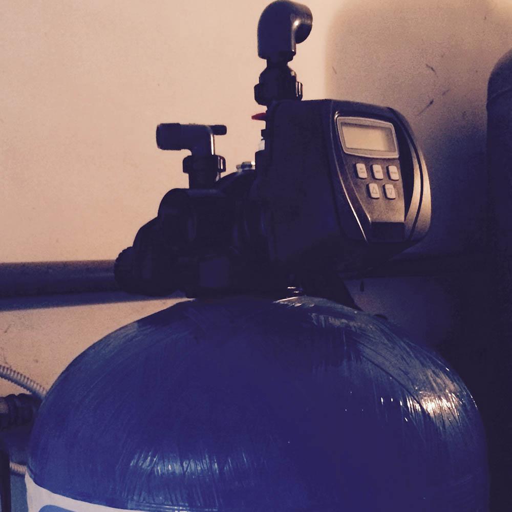 cz trattamento acque impianti depurazione acqua filtrazione addolcimento osmosi inversa - addolcitore residenziale 150