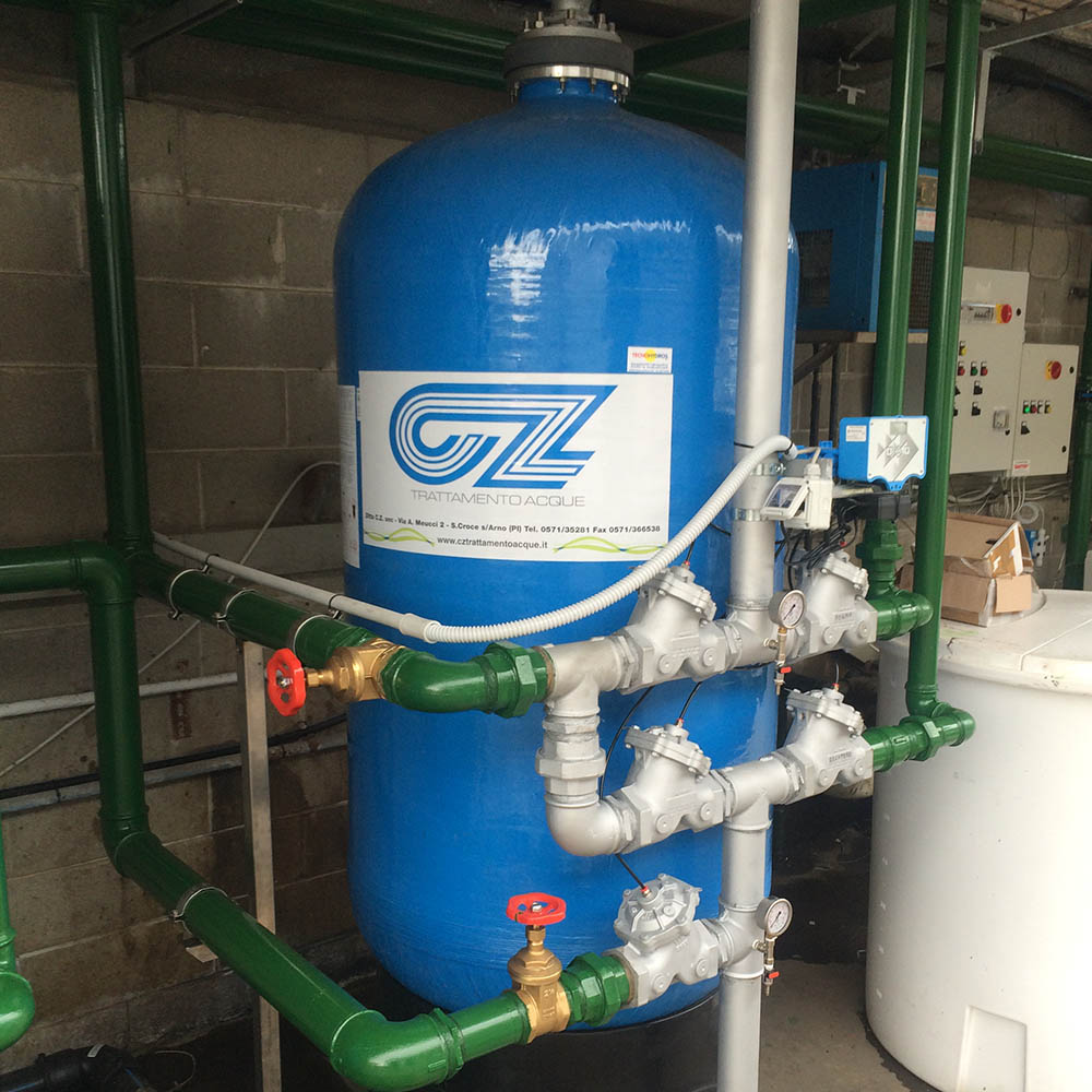 cz trattamento acque impianti depurazione acqua filtrazione addolcimento osmosi inversa - filtro trattamento acque industriali 36 CA,LS,PRO,MTM