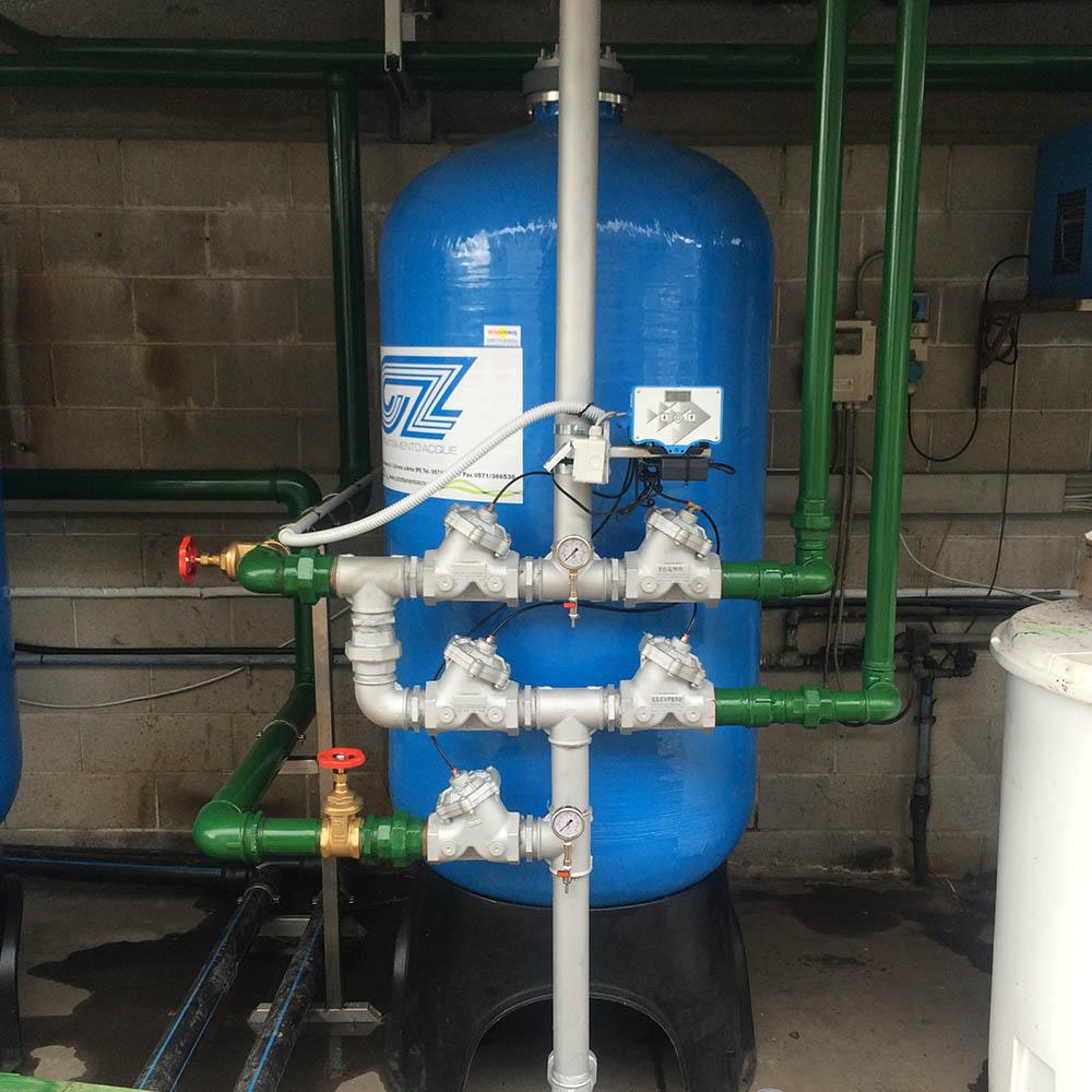 cz trattamento acque impianti depurazione acqua filtrazione addolcimento osmosi inversa - filtro trattamento acque industriali 30 CA,LS,PRO,MTM