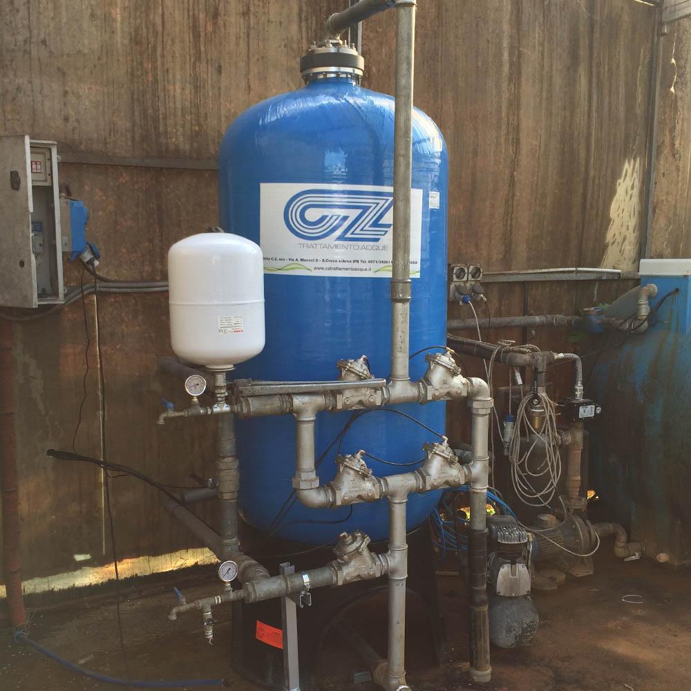 cz trattamento acque impianti depurazione acqua filtrazione addolcimento osmosi inversa - filtro trattamento acque industriali 18 IV CA,LS,PRO,MTM