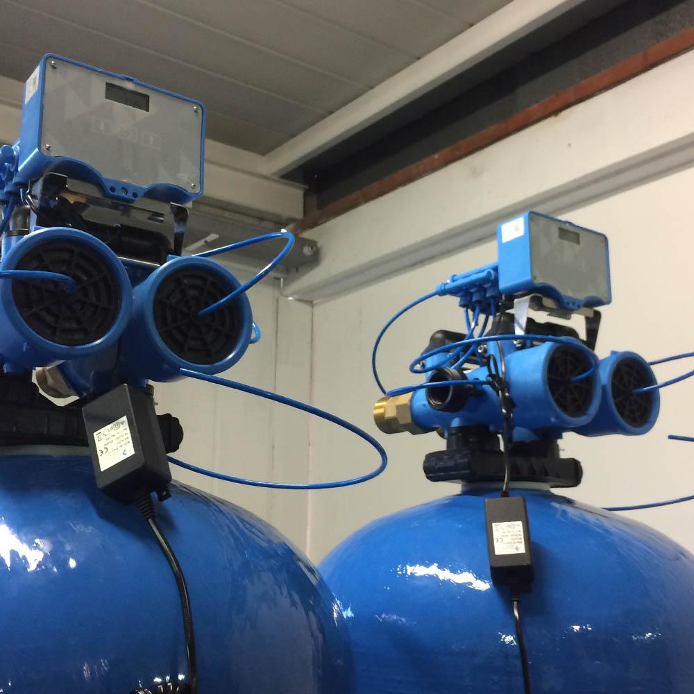 cz trattamento acque impianti depurazione acqua filtrazione addolcimento osmosi inversa - addolcitore DAV 300