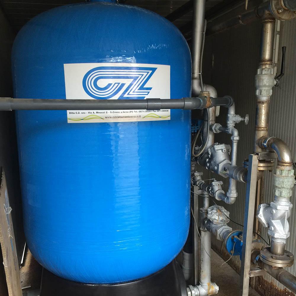 cz trattamento acque impianti depurazione acqua filtrazione addolcimento osmosi inversa - addolcitore WS 1750-48