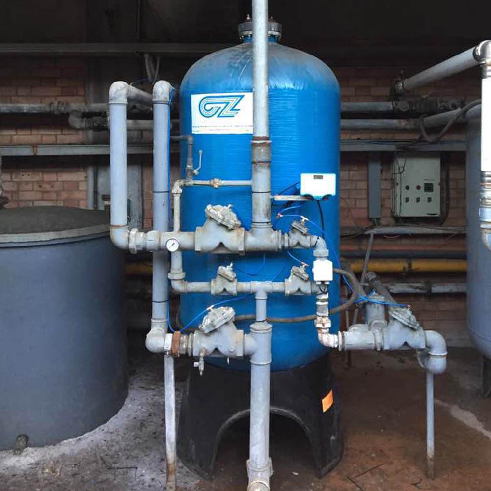 cz trattamento acque impianti depurazione acqua filtrazione addolcimento osmosi inversa - addolcitore WS 200-18