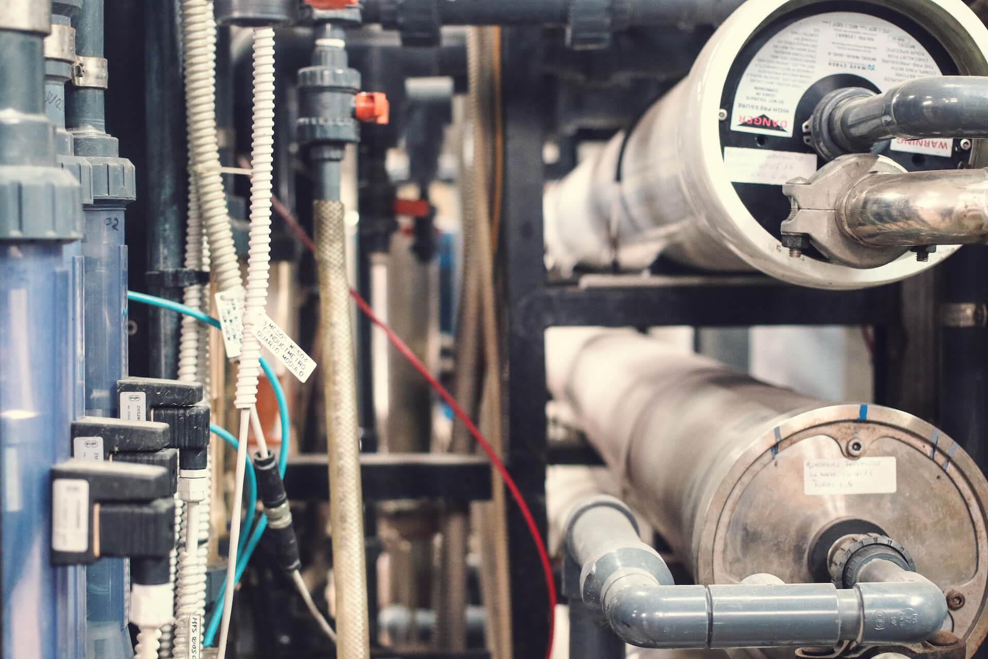 cz trattamento acque main header versione desktop - foto impianto filtrazione osmosi inversa industriale