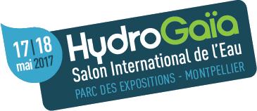 logo hydrogaia - fiera internazionale acqua montpellier francia